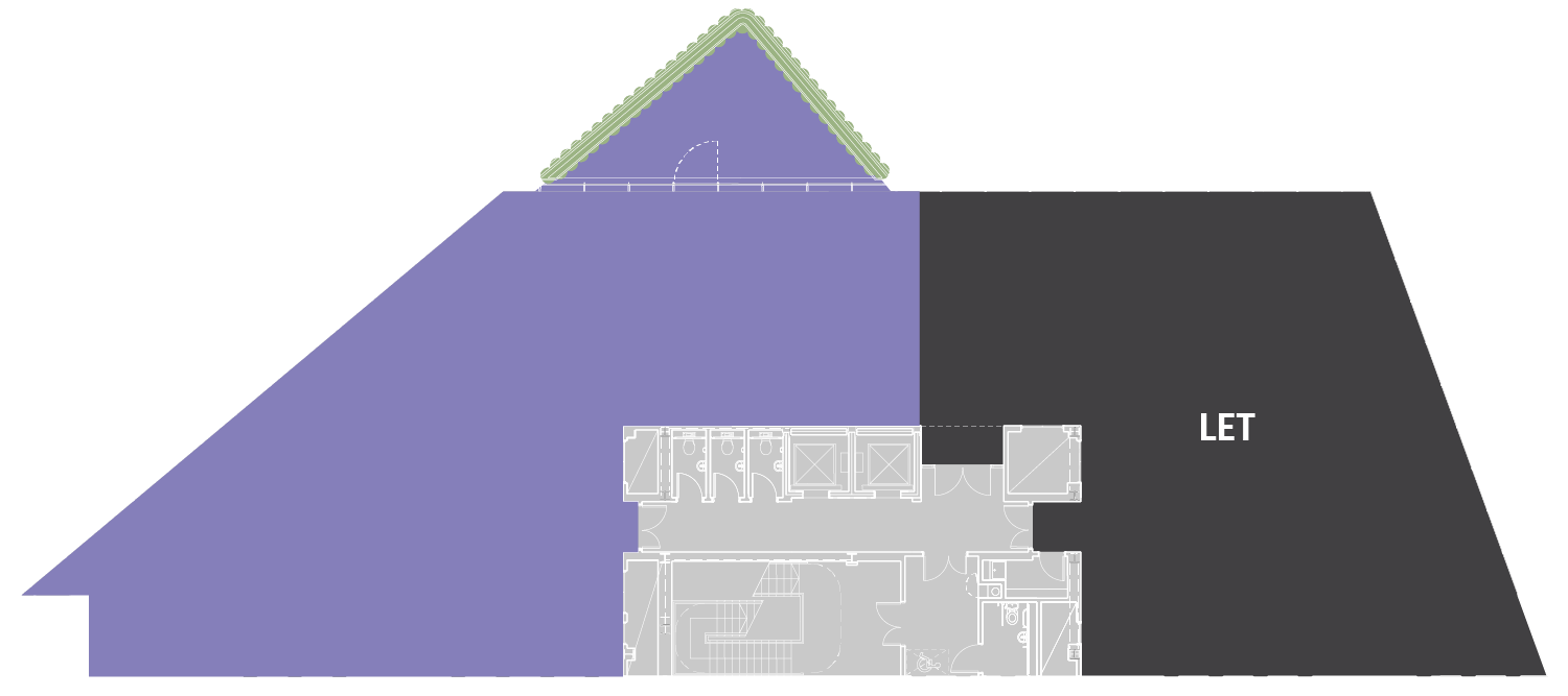 PART SECOND FLOOR WITH BALCONY – 3,398 SQ FT (316 SQ M)