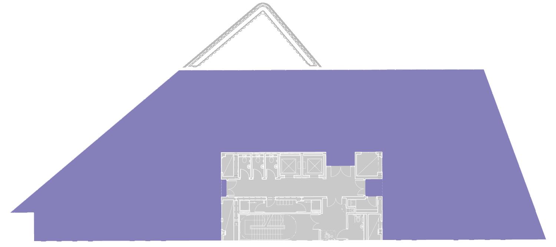 THIRD FLOOR – 5,875 SQ FT (546 SQ M)